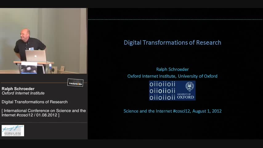 Digital Transformation of Research