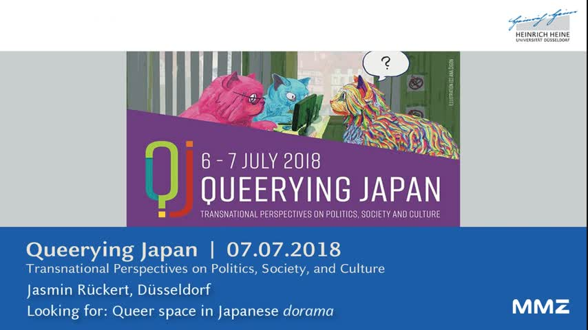 Looking for: Queer space in Japanese dorama
