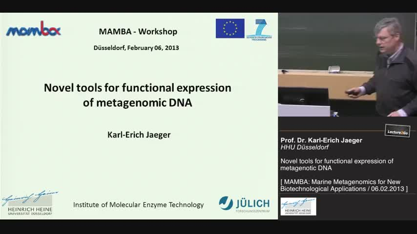 Tools for functional expression of metagenomic DNA