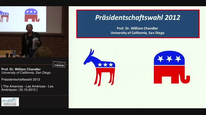 Präsidentschaftswahl 2012: The Race to the White House