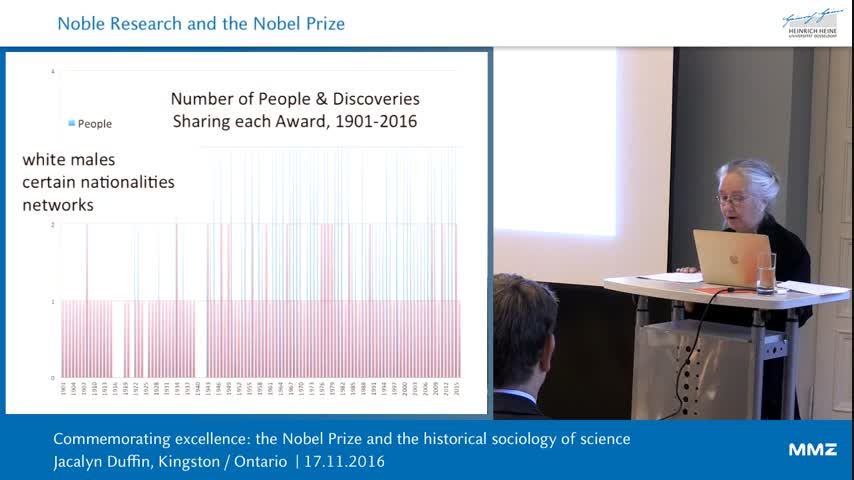 Commemorating Excellence: the Nobel Prize and the historical sociology of science