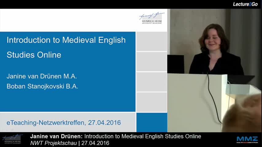 Introduction to Medieval English Studies Online