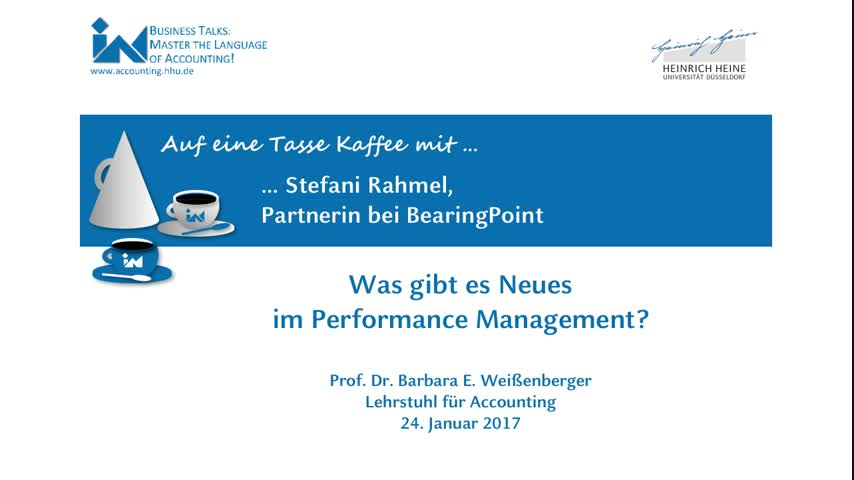 Was gibt es Neues im Performance Management?
