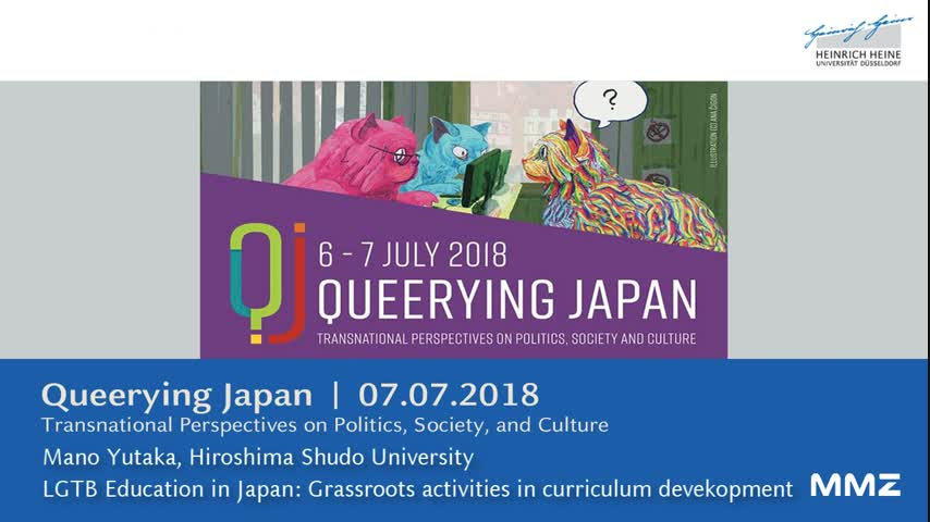 LGBT education in Japan: grassroots activities in curriculum development