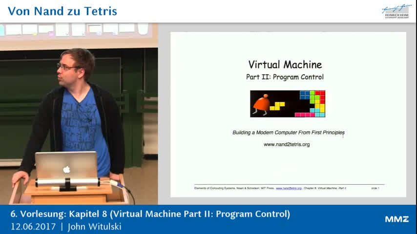 Von Nand zu Tetris 6: K8 (Virtual Machine Part II: Program Control)