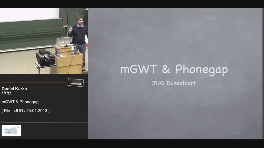 mGWT & Phonegap