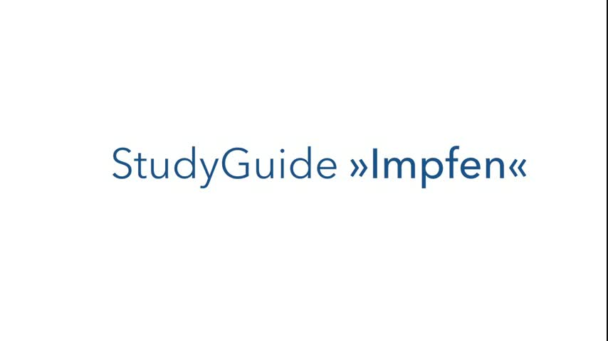 StudyGuide: Impfung