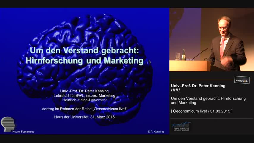 Um den Verstand gebracht: Hirnforschung und Marketing