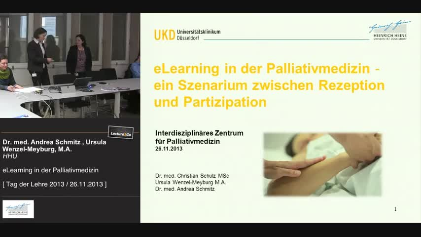 eLearning in der Palliativmedizin