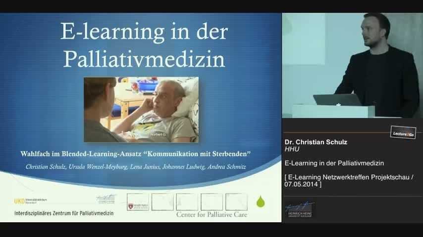 E-Learning in der Palliativmedizin