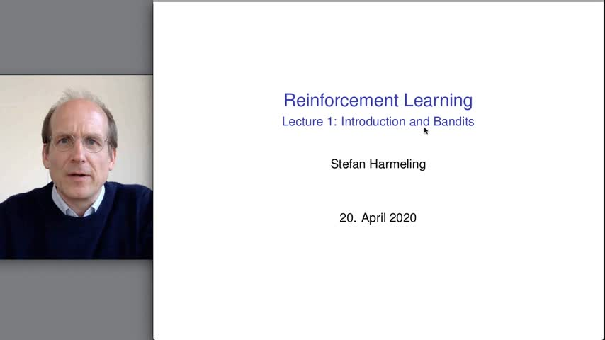 Reinforcement Learning: 1. Introduction + Bandits 2020