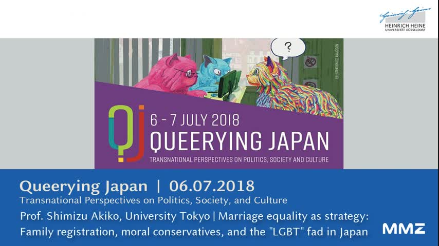 Marriage equality as strategy: family and registration, moral conservatives, and the LGBT fad in Japan