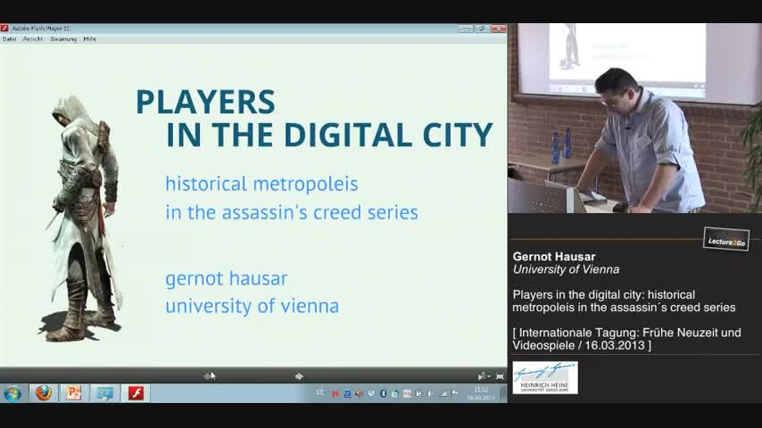 Players in the digital city: metropoleis in the assassin´s creed series