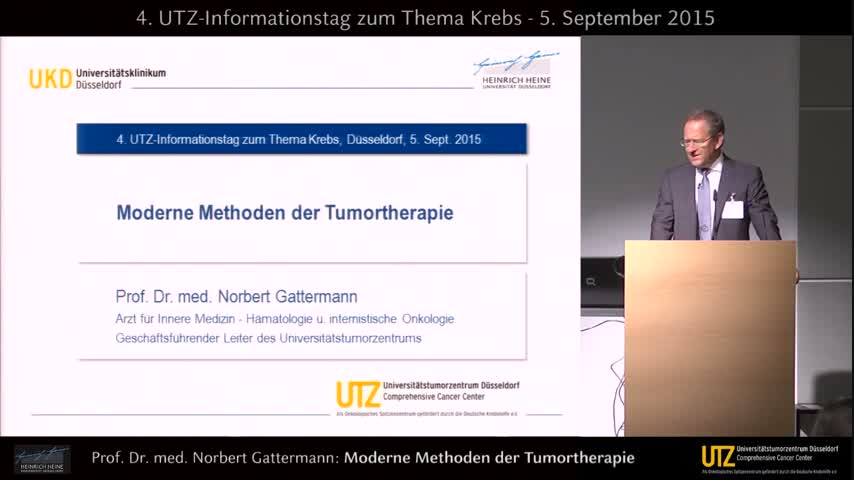 Moderne Methoden der Tumortherapie