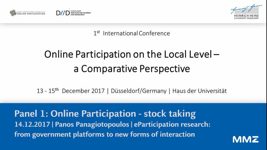 eParticipation research: from government platforms to new forms of interaction