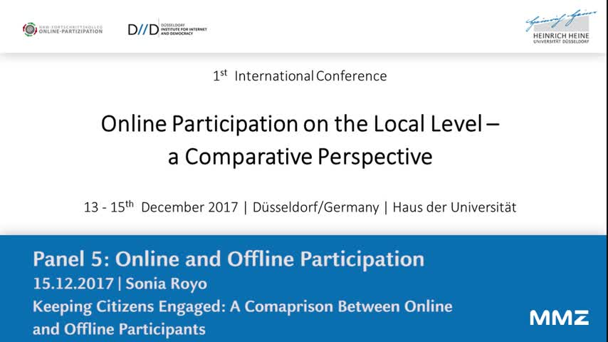 Comparative study of online and offline