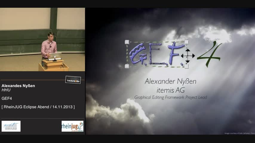GEF4 - Graphical Editing Framework