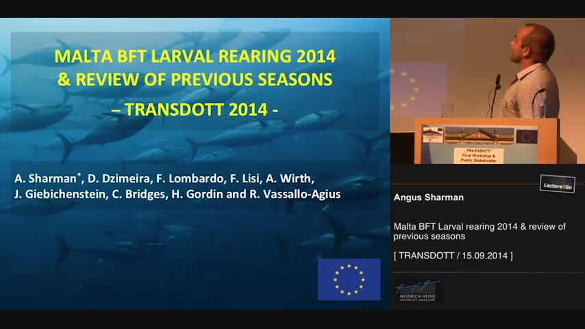 Malta BFT larval rearing 2014 & review of previous seasons