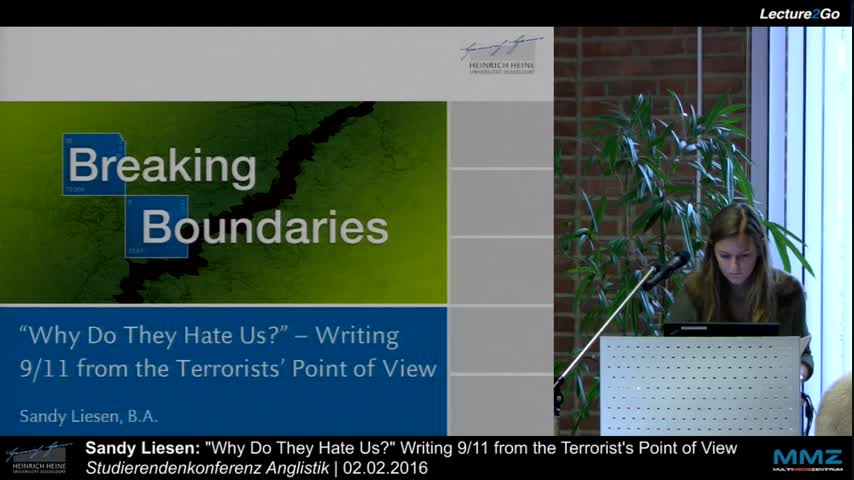 Why Do They Hate Us? Writing 9/11 from the Terrorist's Point of View